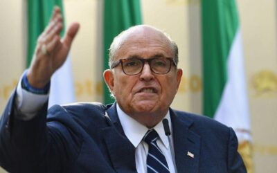 Rudy Giuliani accidentally posts video of himself mocking Asians