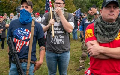 PROUD BOYS RIOT IN DC
