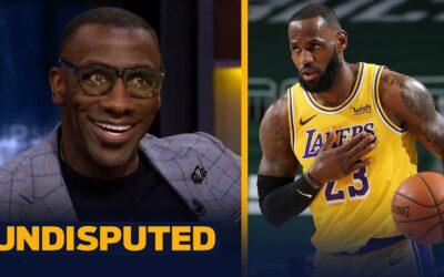 SKIP & SHANNON REACT TO LEBRON'S SEASON-HIGH 34 PTS & LAKERS' BIG WIN OVER BUCKS | NBA | UNDISPUTED