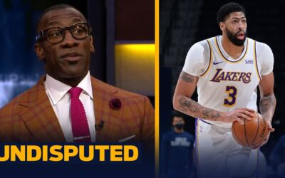 LAKERS SHOULD BE VERY CONCERNED W/ ANTHONY DAVIS' ACHILLES INJURY MOVING FORWARD | NBA | UNDISPUTED