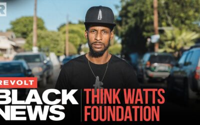 STIX'S THINK WATTS FOUNDATION FIGHTS FINANCIAL ILLITERACY & HOMELESS IN HIS HOME | REVOLT BLACK NEWS
