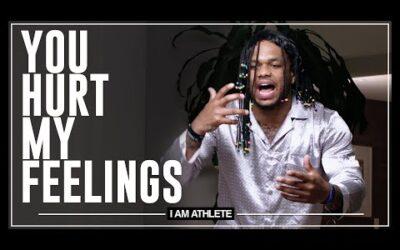 You Hurt My Feelings | I AM ATHLETE w/ Brandon Marshall, Chad Johnson & More
