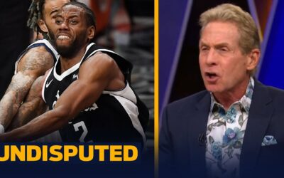 """Skip Bayless throws away his Kawhi shoes after Clippers """"choked"""" in GM 5 to Mavs   NBA   UNDISPUTED"""