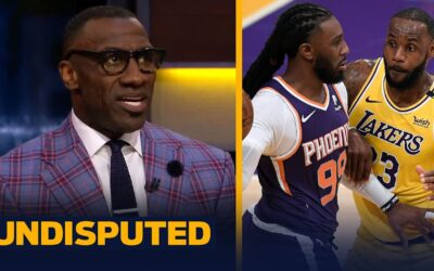 Skip & Shannon react to LeBron's Lakers being eliminated by Suns in first round   NBA   UNDISPUTED